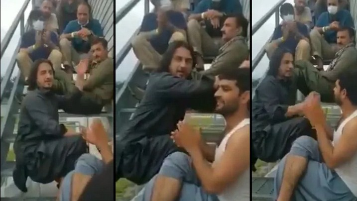 Evacuated Afghan Musician Sings Lamentably About His Homeland in Viral Video