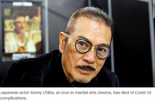 Legendary Martial Artist and Kill Bill Actor, Sonny Chiba, Dies of COVID-19 At 82