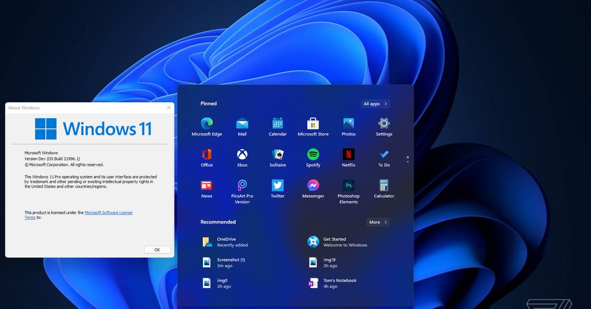 Windows 11 Changes Installation Requirements, Can Be Run On Older PCs